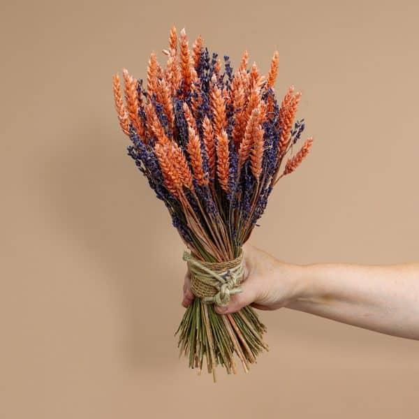 Lavendel schoofje roze tarwe 33