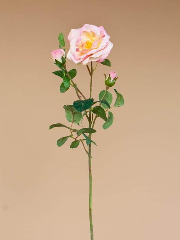 Kunstbloem-Roos-Glanis