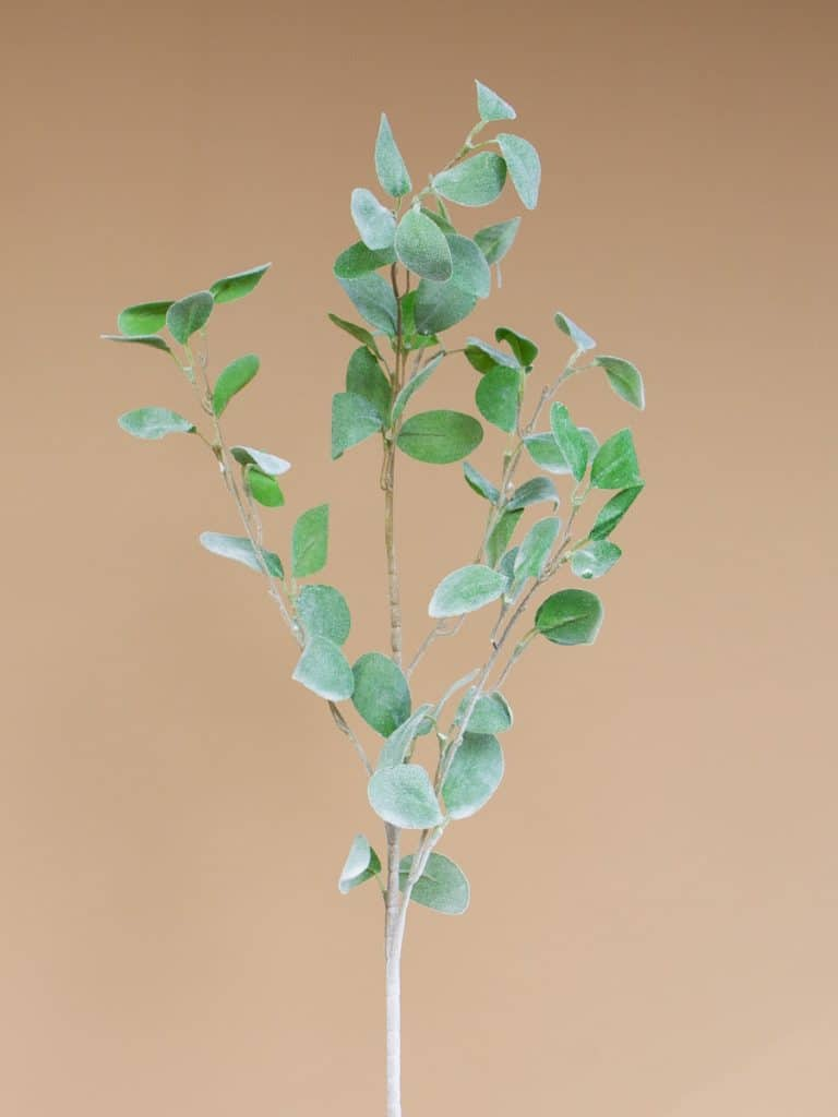 Kunstbloem eucalyptus licht groen