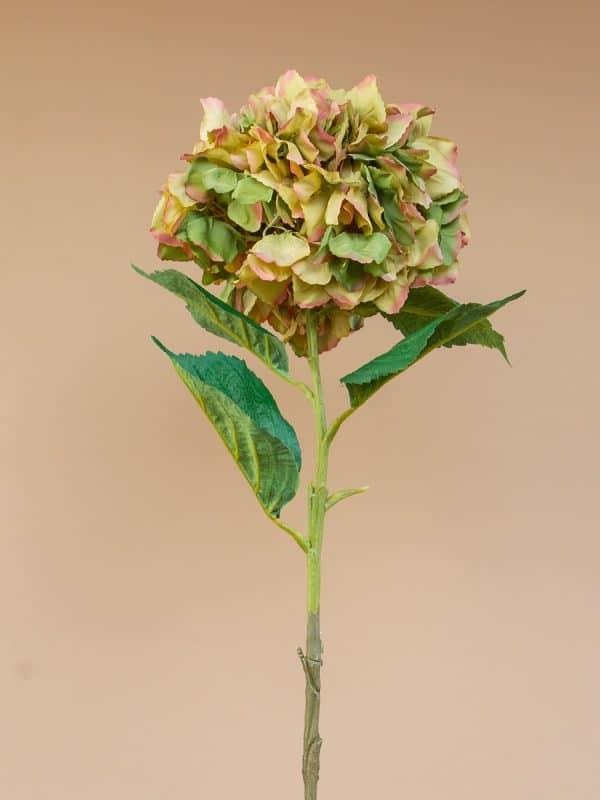Kunstbloem hortensia