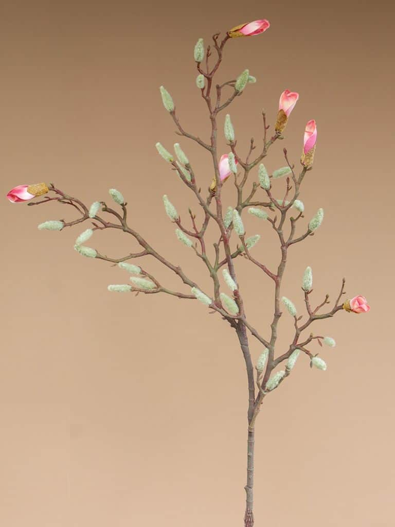 Kunstbloem magnolia bloesem