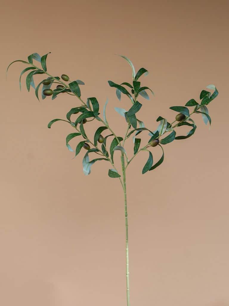 Kunstbloem olijftak