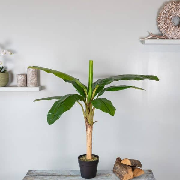 Kunstplant Bananenplant 110 cm 1