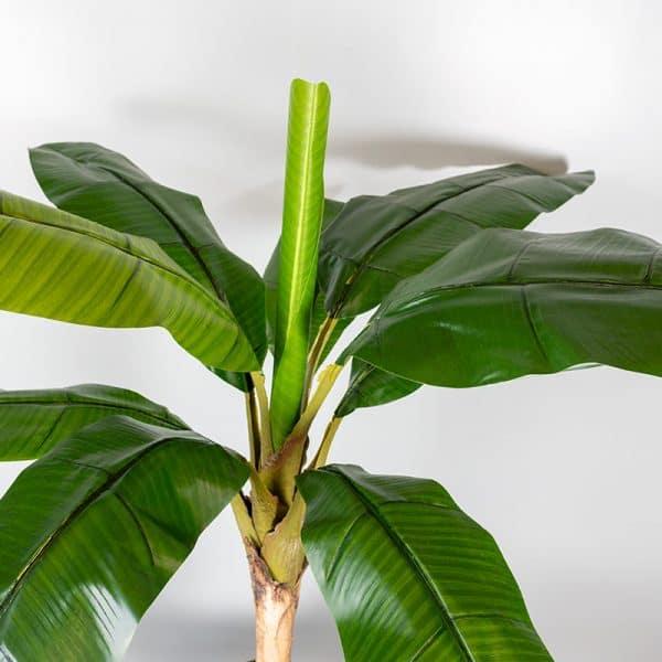 Kunstplant Bananenplant 110 cm blad