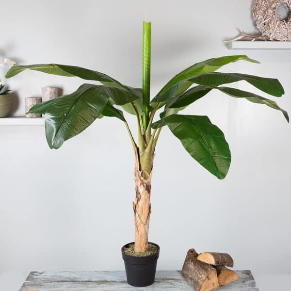 Kunstplant Bananenplant 135 cm 1