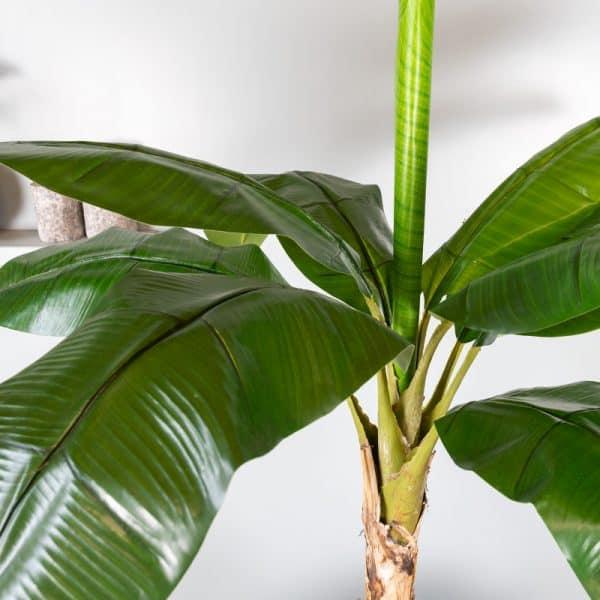 Kunstplant Bananenplant 135 cm blad