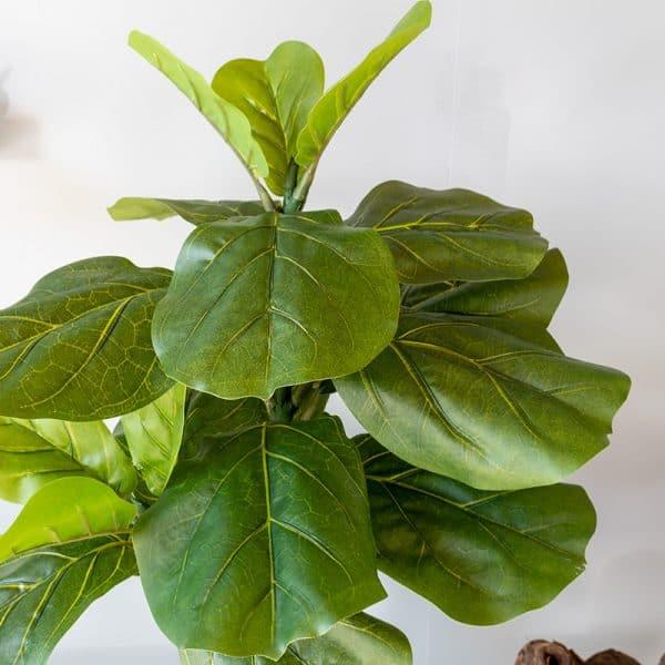 Kunstplant Ficus lyrata 70 cm blad