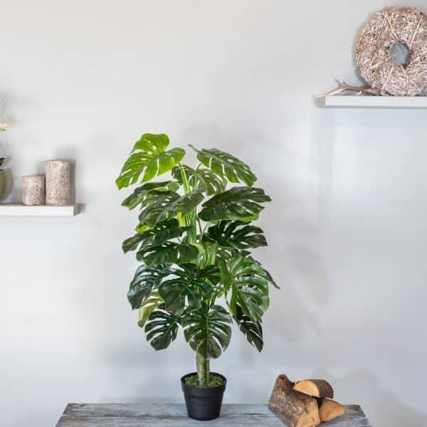 Kunstplant Monstera 120cm 1