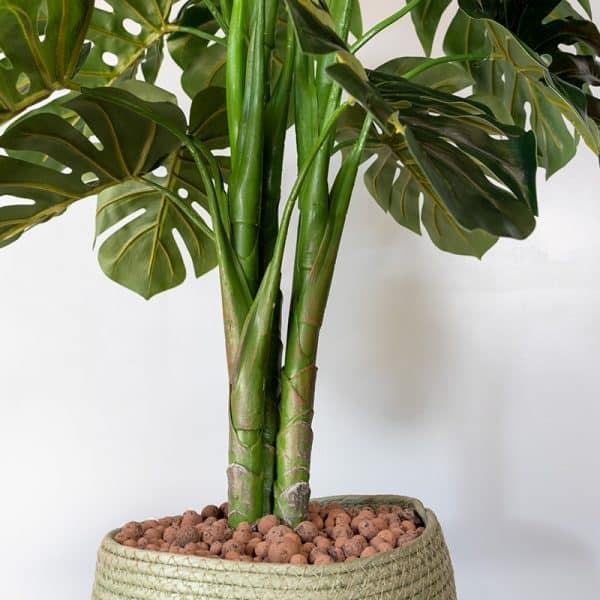 Kunstplant Monstera 120cm stam
