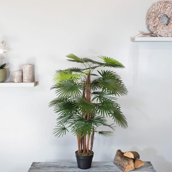 Kunstplant Rhapis humilis 110 cm 1