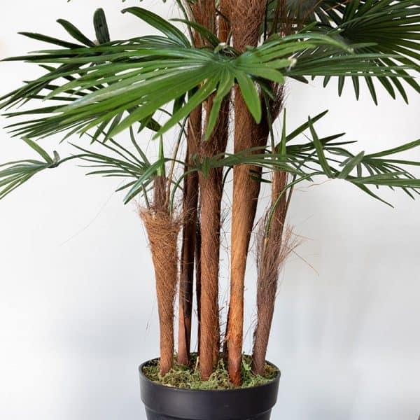 Kunstplant Rhapis humilis 110 cm stam