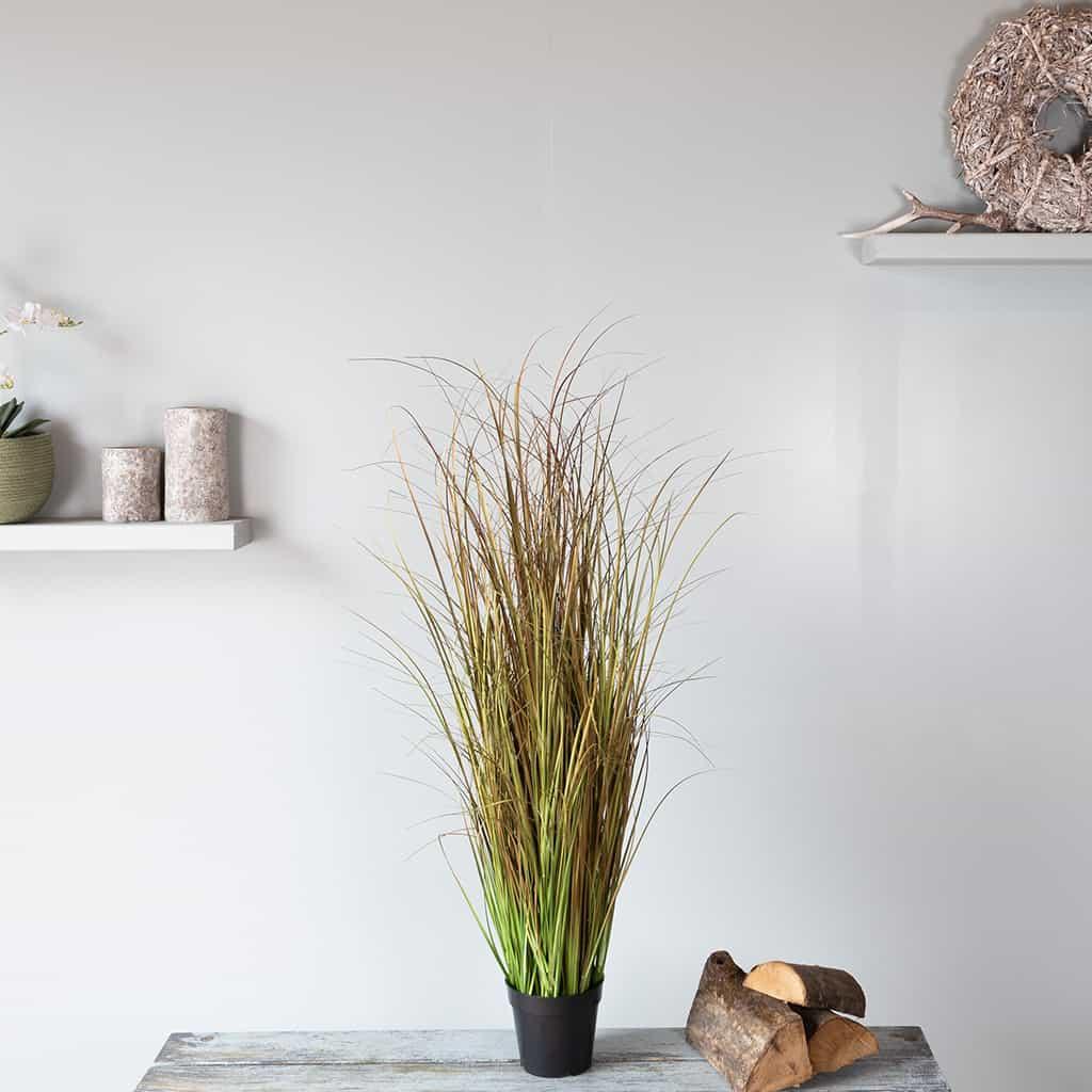 Kunstplant Siergras 120 cm