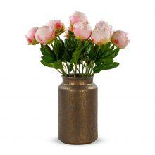 12 pioenrozen dicht licht roze